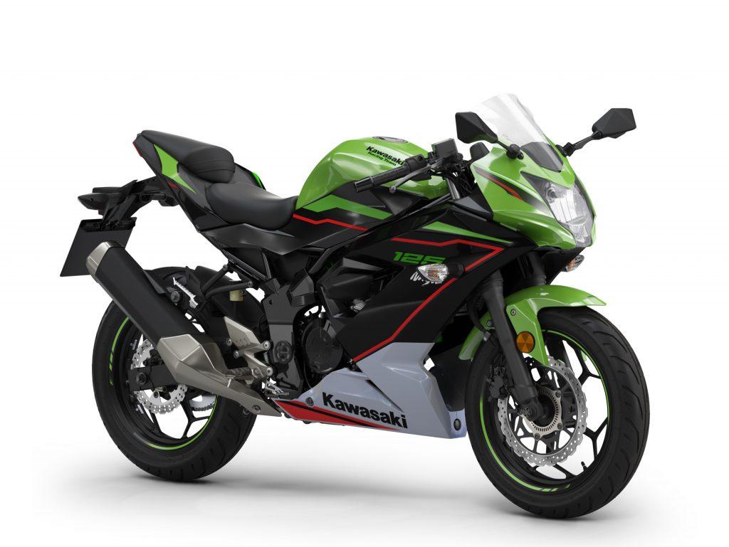 ninja 125 2021 vert Kawasaki Mons CasuMotos Moto