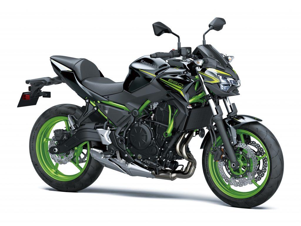 Z650 2021 Noir Vert Kawasaki Mons CasuMotos Moto