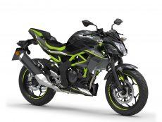 Z125 2021 Noir vert Kawasaki Mons CasuMotos Moto