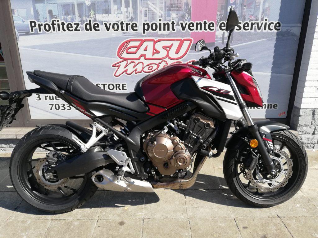 Honda CB650F 2018 Rouge